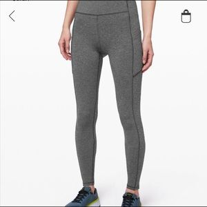 Grey Lululemon Leggings